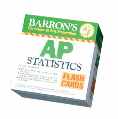 AP Statistics Flash Cards by Martin Sternstein