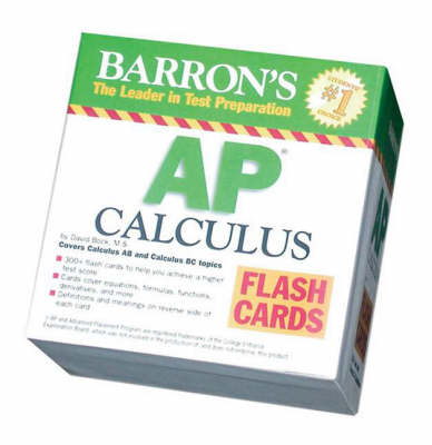 AP Calculus Flash Cards (Box) by David Bock