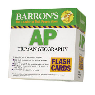 AP Human Geography Flash Cards by Meredith Marsh, Peter S. Alagona
