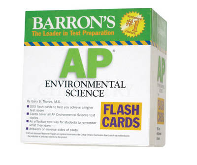 AP Environmental Science Flash Cards by Gary S. Thorpe