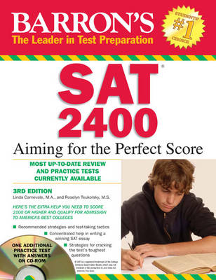Sat 2400 Aiming for the Perfect Score by Linda Carnevale, Roselyn Teukolsky