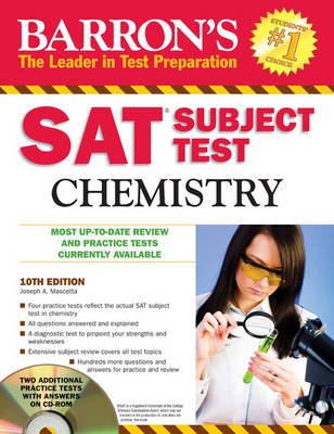 Sat Subject Test Chemistry by Joseph A. Mascetta