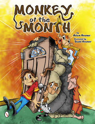 Monkey of the Month by Adam Kramer