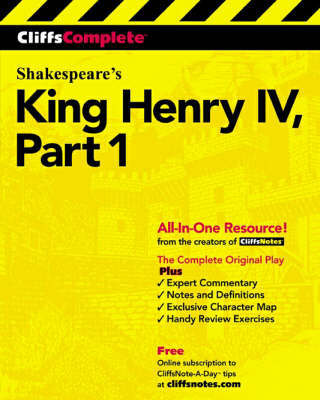 King Henry IV Complete Study Edition by William Shakespeare