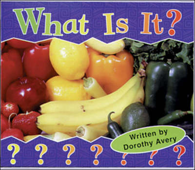 What is it? Set B Emergent Guided Readers by McGraw-Hill Education