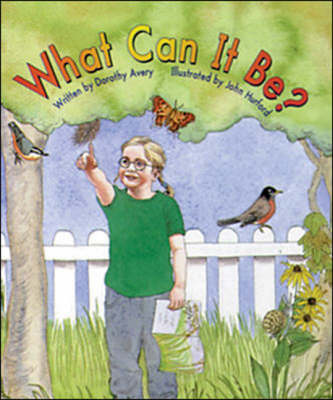 What Can it be? Set B Emergent Guided Readers by Dorothy Avery