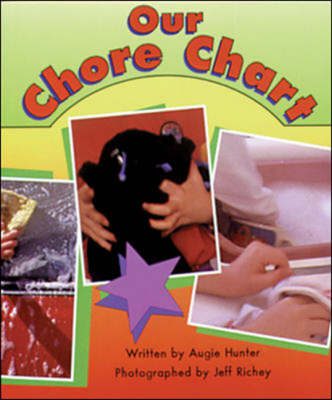Our Chore Chart Set C Emergent Guided Readers by Augie Hunter