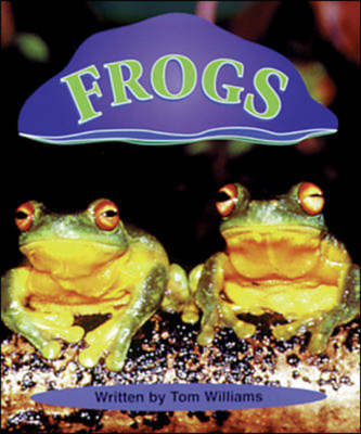 Frogs Set C Emergent Guided Readers by Tom Williams