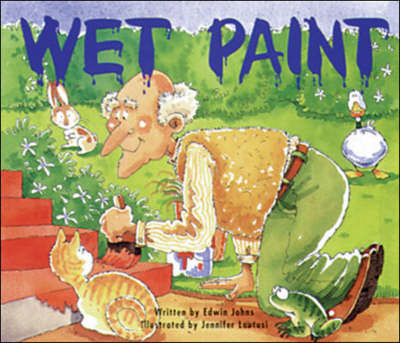 Wet Paint Set C Emergent Guided Readers by Edwin Johns