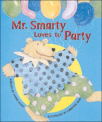 Mr. Smarty Loves to Party Set A Early Guided Readers by Janine Scott