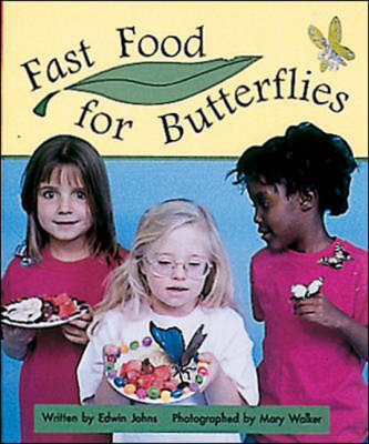 Fast Food for Butterflies Set C Early Guided Readers by Edwin Johns