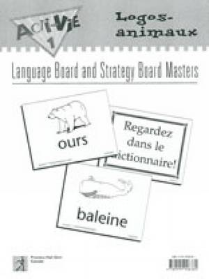 Acti-Vie-Tes 1 Logos-animaux (animals) Language Board Masters by Irene Bernard