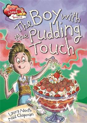 Boy with Pudding Touch by Laura North