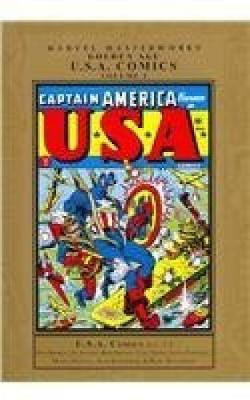 Marvel Masterworks Golden Age USA Comics by Marvel Comics