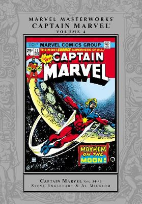 Marvel Masterworks Captain Marvel by Marvel Comics
