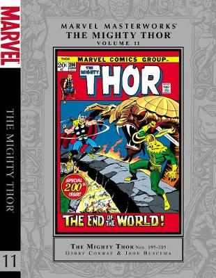 Marvel Masterworks Mighty Thor by Stan Lee, Gerry Conway, John Buscema