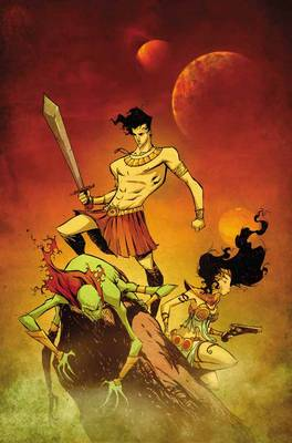John Carter of Mars Princess of Mars by Roger Langridge, Filipe Andrade