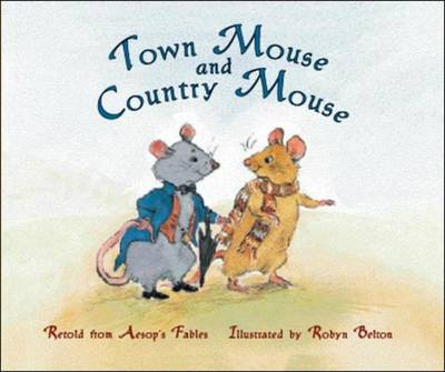 Town Mouse and Country Mouse (Level 15) by McGraw-Hill Education