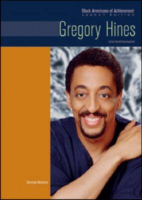 Gregory Hines Entertainer by Dennis Abrams