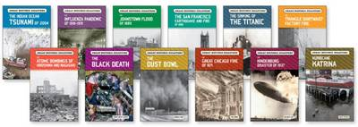 Great Historic Disasters Set by Chelsea House Publishers