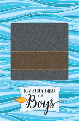 Study Bible for Boys-KJV-Metallic Design by Dr Larry Richards