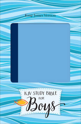 Study Bible for Boys-KJV by Dr Larry Richards