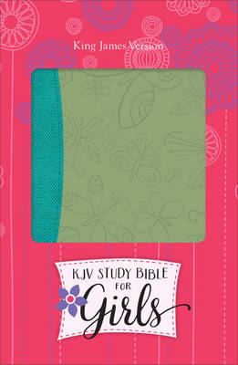 Study Bible for Girls-KJV-Butterfly Design by Dr Larry Richards