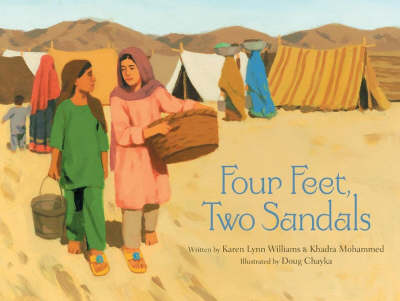 Four Feet, Two Sandals by Karen Lynn Williams, Khadra Mohammed
