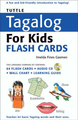 Tuttle Tagalog for Kids Flash Cards by Tuttle Editors