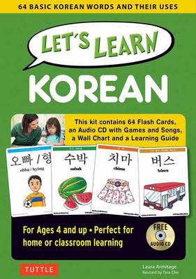 Let's Learn Korean 64 Basic Korean Words and Their Uses by Laura Armitage