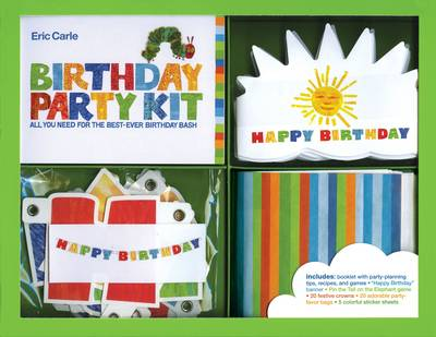 Eric Carle Birthday Party Kit by Eric Carle