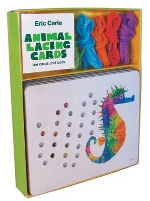 Eric Carle Animal Lacing Cards Ten Cards and Laces by Eric Carle