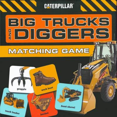 Big Trucks and Diggers Matching Game by Caterpillar Corporation