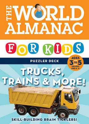 World Almanac Puzzler Deck Trucks by Chronicle Books LLC