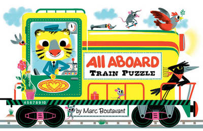 All Aboard Train Puzzle by Marc Boutavant