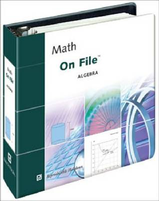 Math on File Algebra by James C. Alexander