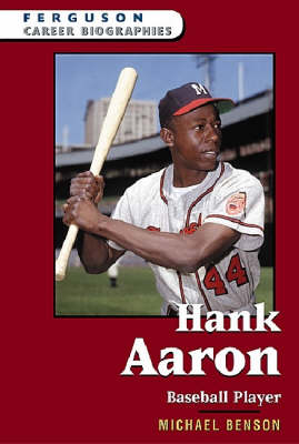 Hank Aaron Baseball Player by Michael Benson