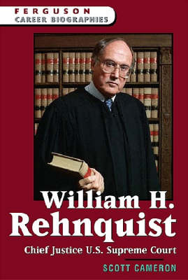 William H. Rehnquist Chief Justice of the U.S. Supreme Court by Scott Cameron