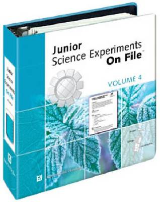 Junior Science Experiments on File by Aviva Ebner