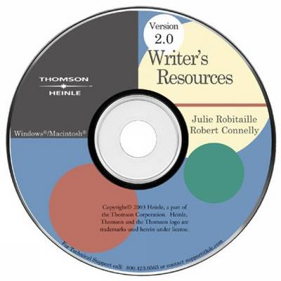 Writer's Resources CD-ROM 2.0 ILrn Version by Julie Robitaille, Bob Connelly