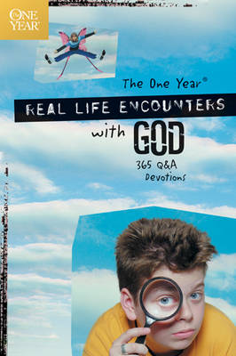 The One Year Real Life Encounters with God 365 Q&A Devotions by Child Evangelism Fellowship, Child Evangelism, Child Evangelism Fellwshp