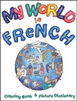My World in French Coloring Book by Tamara Mealer
