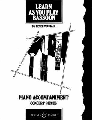 Learn as You Play Bassoon Piano Accompaniment by Peter Wastall