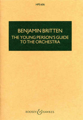 Young Person's Guide to the Orchestra (Hps) by Britten Benjamin