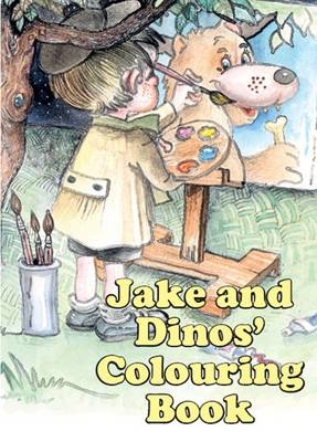 Jake and Dinos' Colouring Book by