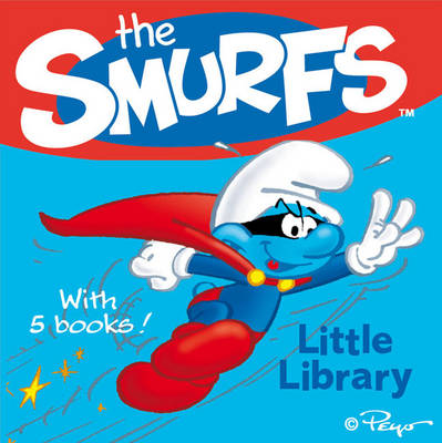 Smurfs Little Library by