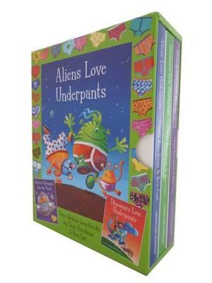 Aliens & Dinos in Underpants by