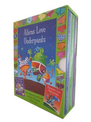 Aliens Love Underpants AND Dinos Love Underpants by