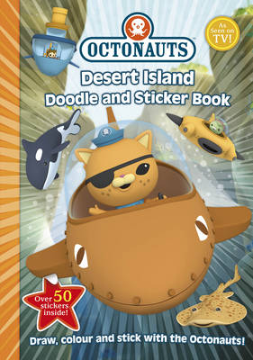 Desert Island Doodle and Sticker Book by