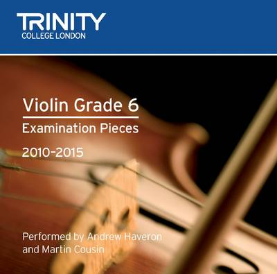 Violin Grade 6 by Trinity College London